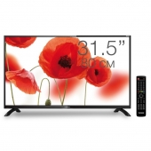 "Телевизор LED Telefunken 31.5"" TF-LED32S43T2 черный/HD READY/50Hz/DVB-T/DVB-T2/DVB-C/USB (RUS)"